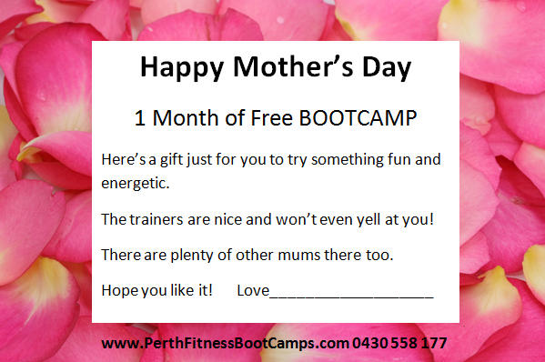 Mums-Fitness-Group-Scarborough-Mothers-Day-Promotion