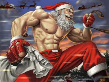 3-Tricks-to-Thwart-Christmas-Weight-Gain-ripped-santa